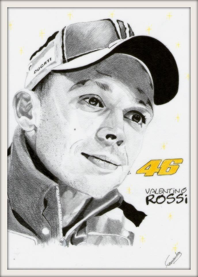 Valentino Rossi por Clint